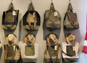 Bolsos y sombreros