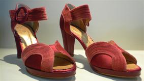 Sandalias rojas