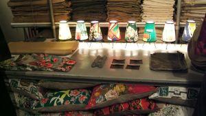 Lámparas y cojines
