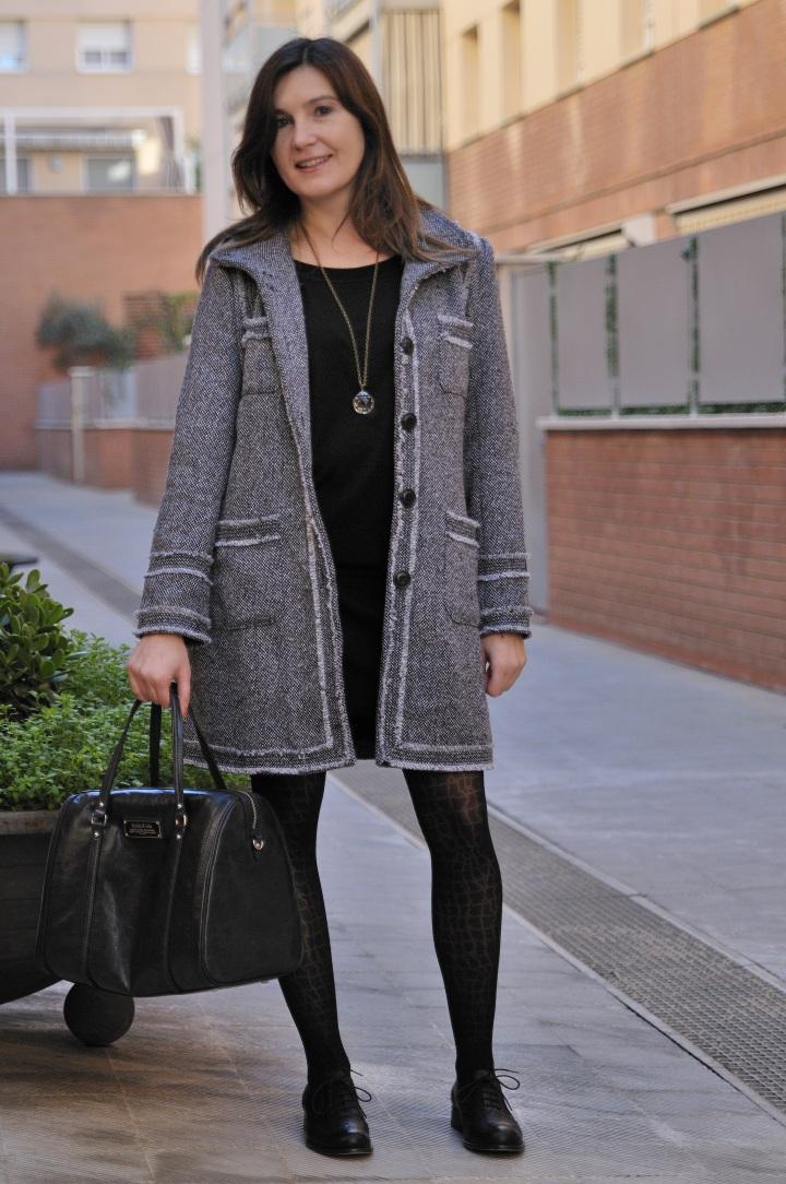 """Ténía visto este abrigo en el escaparate de la tienda """"Polca"""", así que cuando llegaron las rebajas, era una """"prenda objetivo"""""""