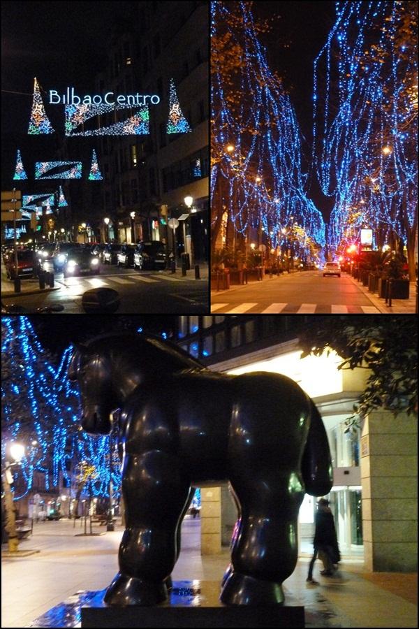 Bilbao iluminación Navidad