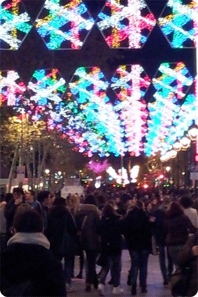 Christmas Shopping Barcelona - Portal de l´Angel