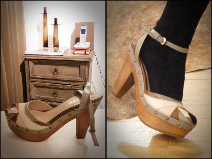 l'emassik zapateria probando zapatos