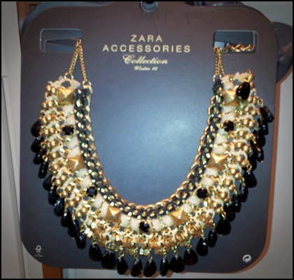 ZARA - Collar barroco