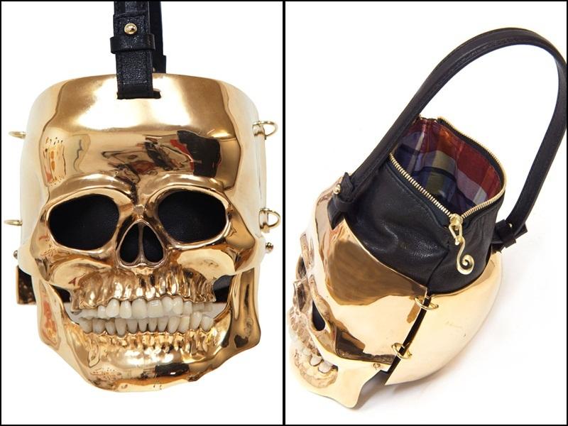 Bolso calavera diseño de Inés Figaredo