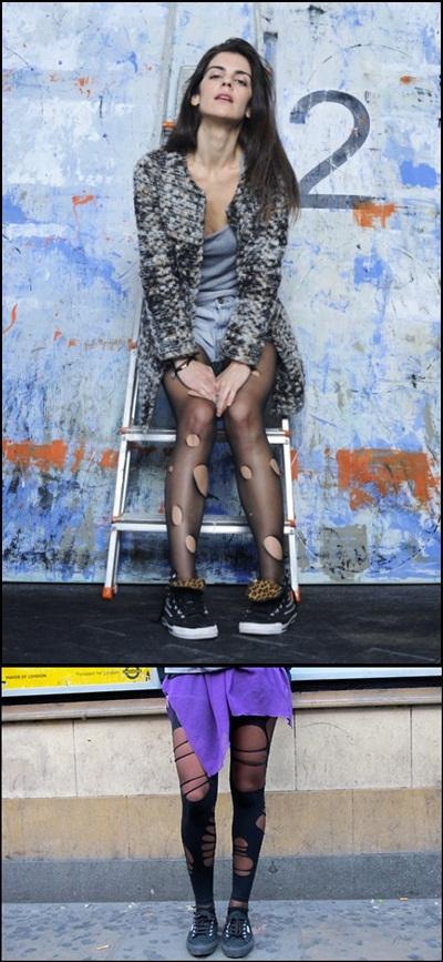 Calzedonia Trendspotting Laura Hayden Tights street style0