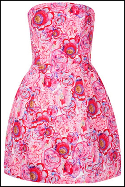 TOP SHOP pink dress