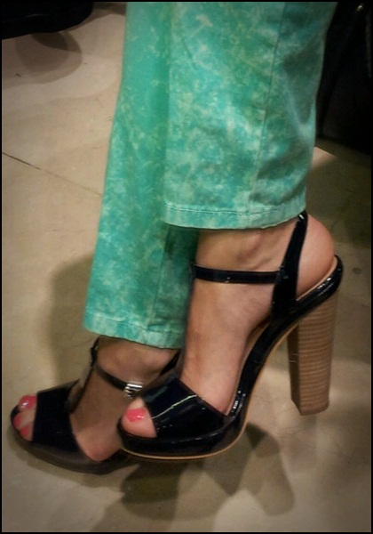 Verde mint-pantalones Zara