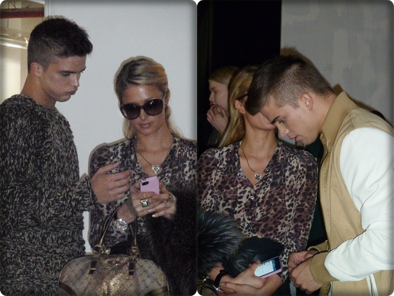 Paris Hilton y River Viiperi - 080 Barcelona Fashion