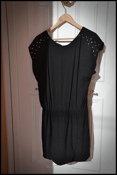 ZARA- vestido tachuelas