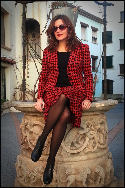 Isabel de Pedro total look