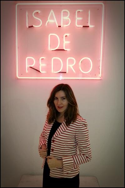 Isabel de Pedro_colección SS2013_americanana_red_navy