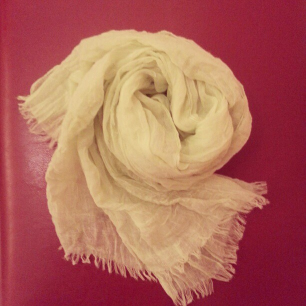Flúor scarf