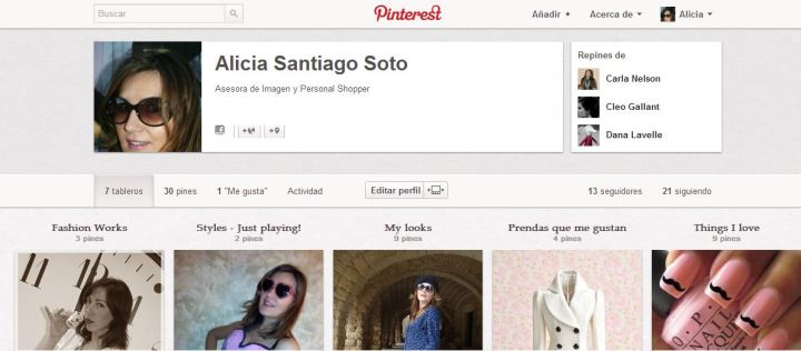 Pinterest Alicia Santiago