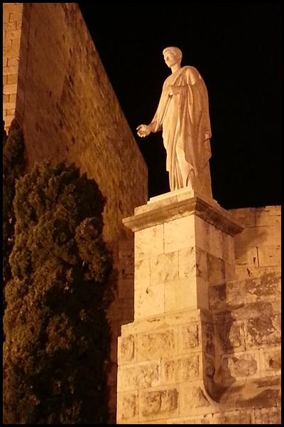 Tarragona by night