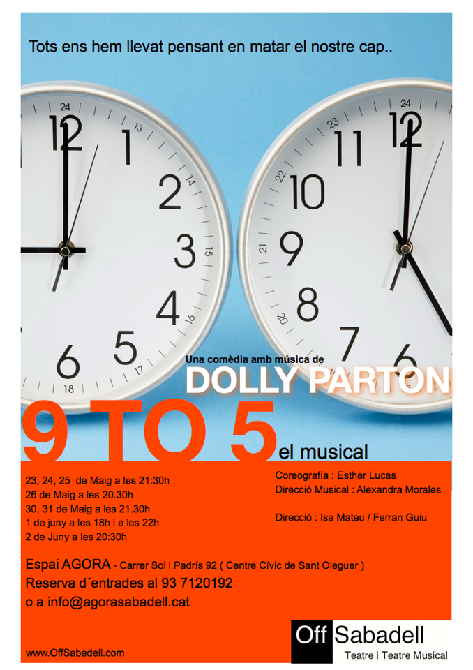 9 to 5 The musical - Sabadell