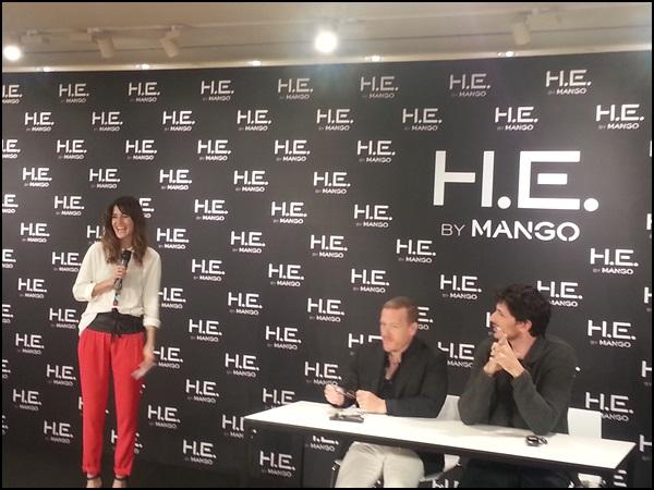 He by Mango by Velencoso & The sartorialist & Gala González