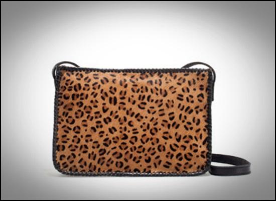 ZARA - Bandolera leopardo piel, 29,95