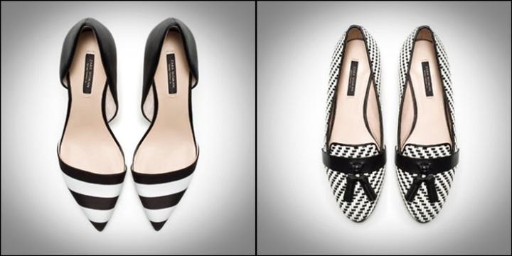 ZARA - Zapatos bicolor Zara 39,95