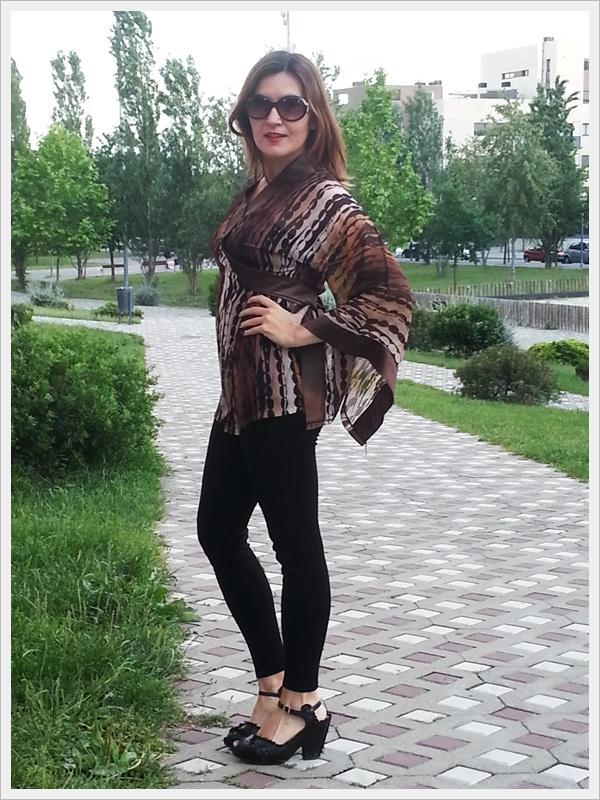 Asian Inspiration, geisha style, Japo look, Kimono street style 5