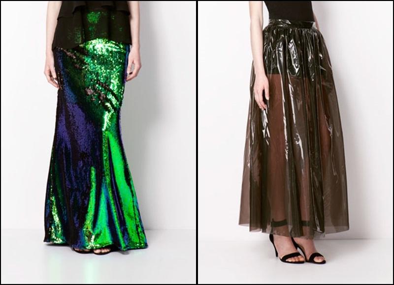 Bershka - colección Dressy - faldas