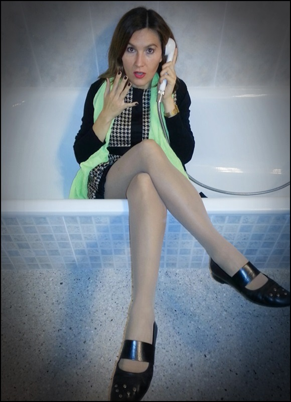 Vestido Over16, bailarinas Audley, Street Style on the bath (3)