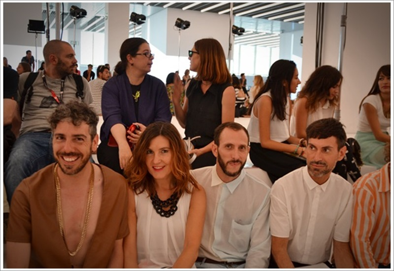 080 Barcelona Fashion SS 2014 Front Row - Cuida tu Imagen (2)