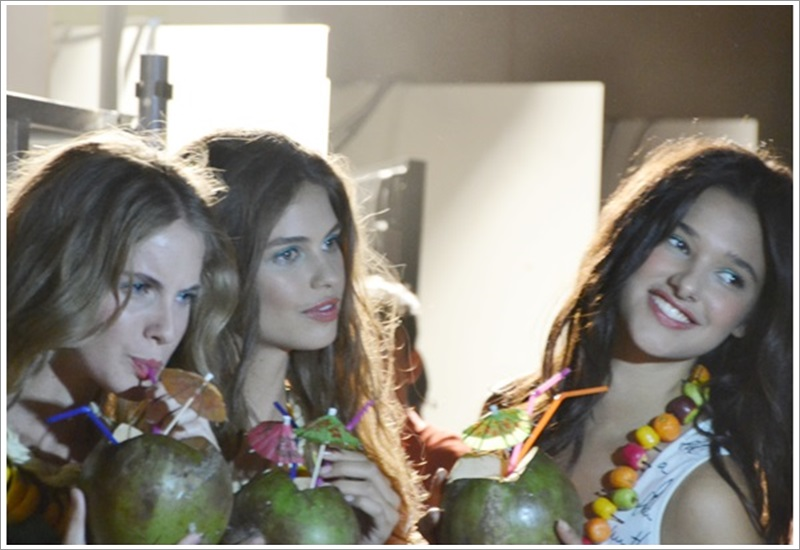Backstage Desigual 080 Barcelona fashion SS2014 - Cuidatuimagen