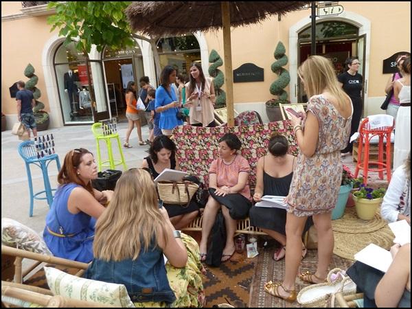 CND Shelac La Roca Village Workshop for bloggers (3)