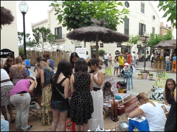 CND Shelac La Roca Village Workshop for bloggers (6)