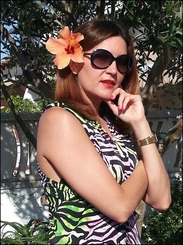 Dungaree tropical Cha de Cores, zapatos Pons Quintana, Gafas Vogue (3)