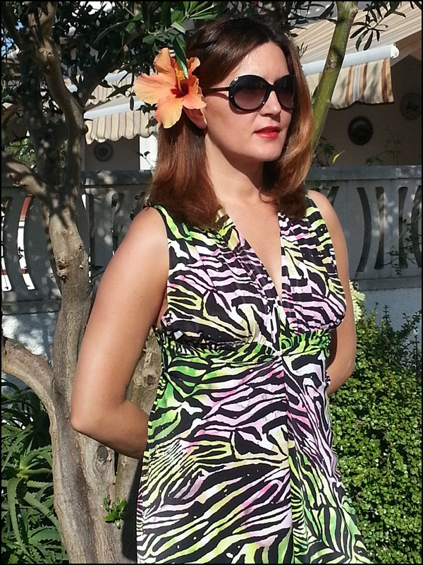 Dungaree tropical Cha de Cores, zapatos Pons Quintana, Gafas Vogue (5)