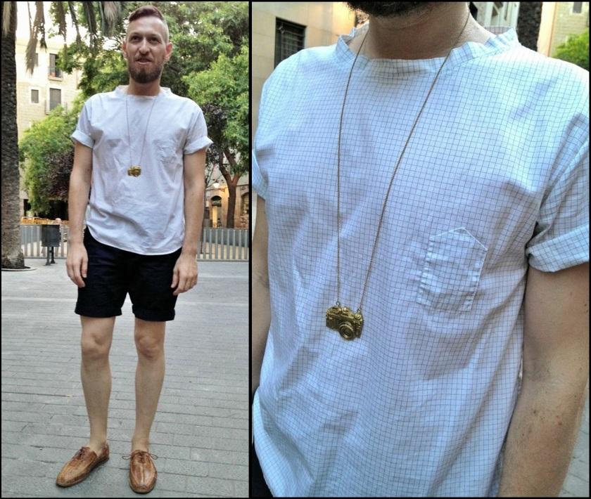 Camisa Italiana, propuesta, lo primero que encontre al abrir el armario.