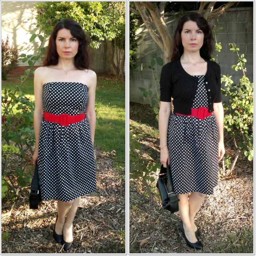 Vestido vintage; Chaqueta Mango; Bolso Mango; Salones Cartagena; Look Audrey Hepburn; Cuidatuimagen; looks de verano (5)