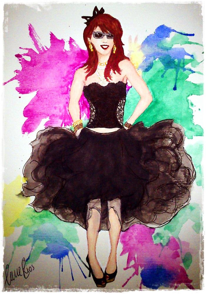 Cuidatuimagen, Historia de un tutu, Madonna dibujo Anna