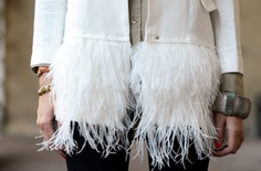 DIY - blazer - añade plumas