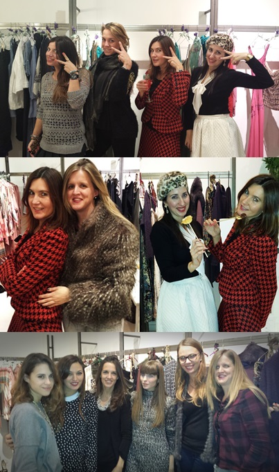 Cuidatuimagen, Showroom Lío de Faldas, traje Isabel de Pedro, evento fashion bloggers, bloggers Fashion Date by Lio de Faldas, Barcelona, Bloggers Team