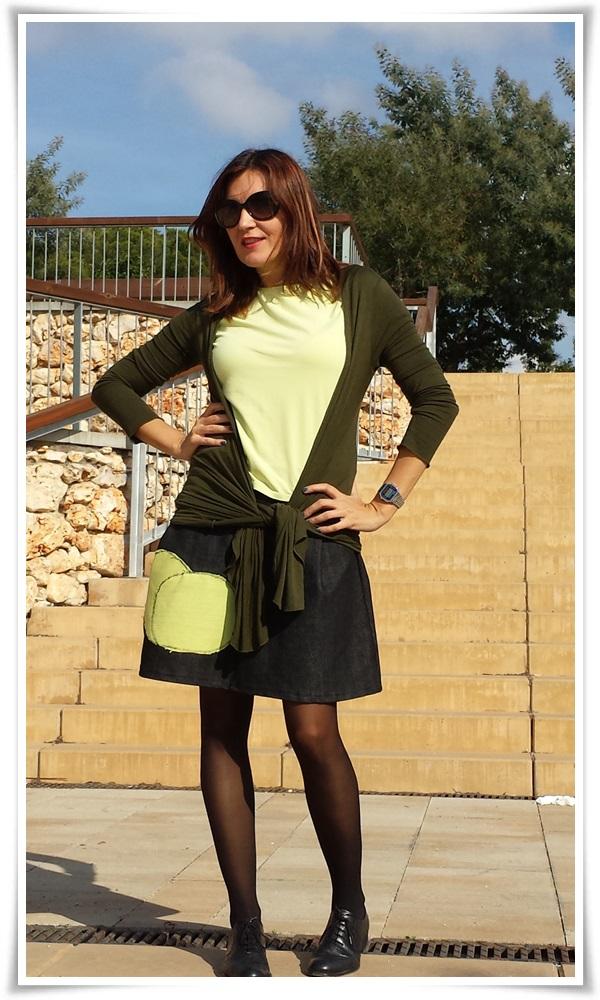 Cuidatuimagn, street style, falda DIY, bolso local shop, chaqueta Sfera, Camiseta Massimo Dutti; medias Calzedonia, Oxford Sita Murt (4)