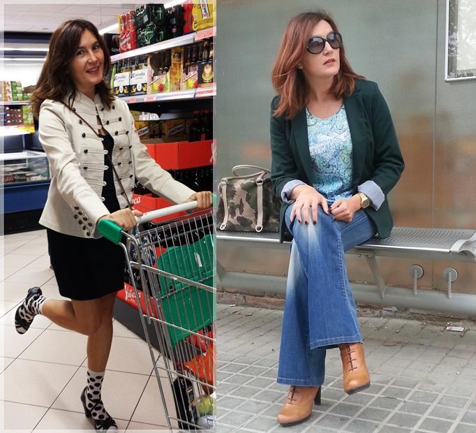 Como vivir con una blogger y no morir en el intento; Cuidatuimagen, el marido de la blogger; De compras en Mercadona, en la parada dde bus