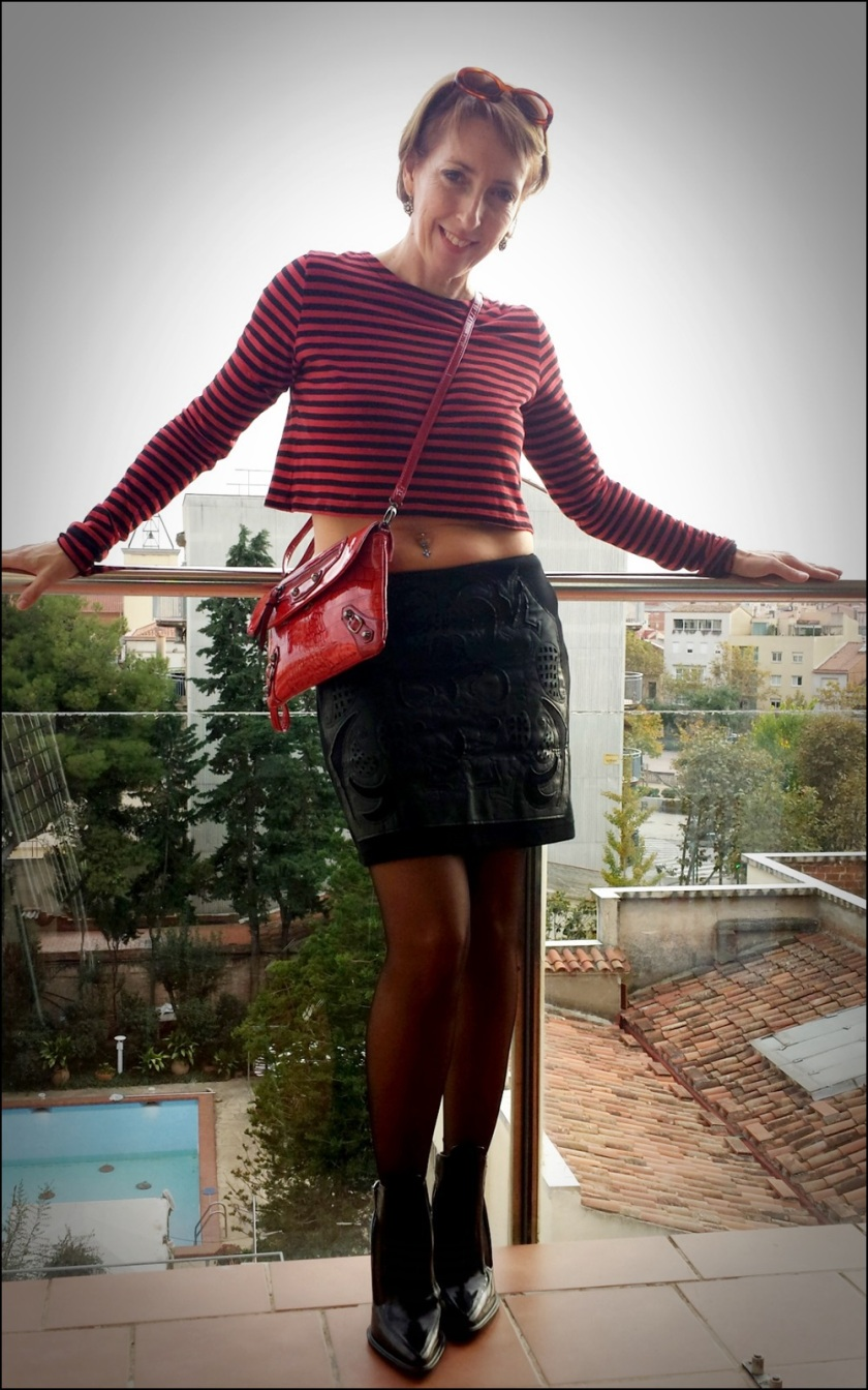 Cuidatuimagen, crop top Zara; Buylevard; trendy looks