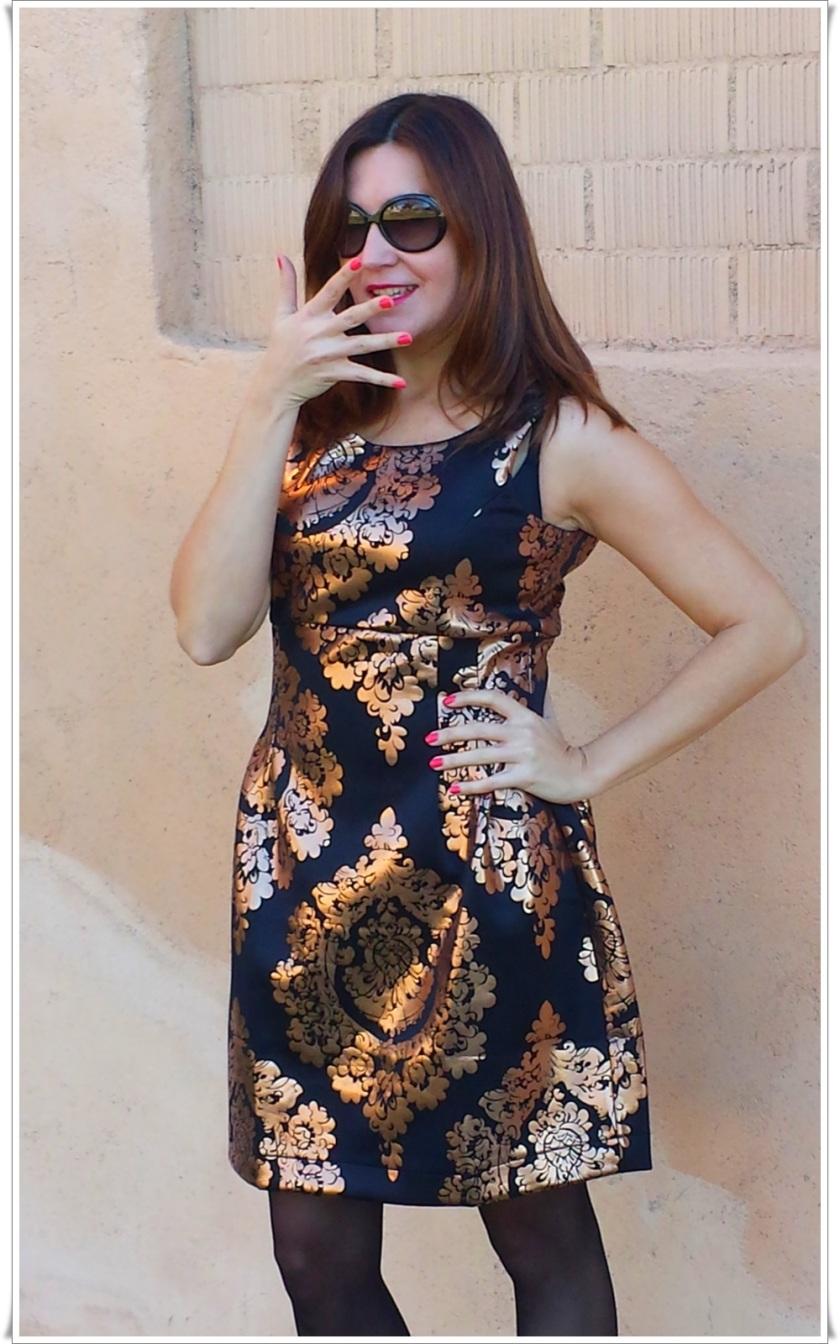 Cuidatuimagen, Look de fin de año; Venca, barroco, dress, end-of-year look, trendy looks 2