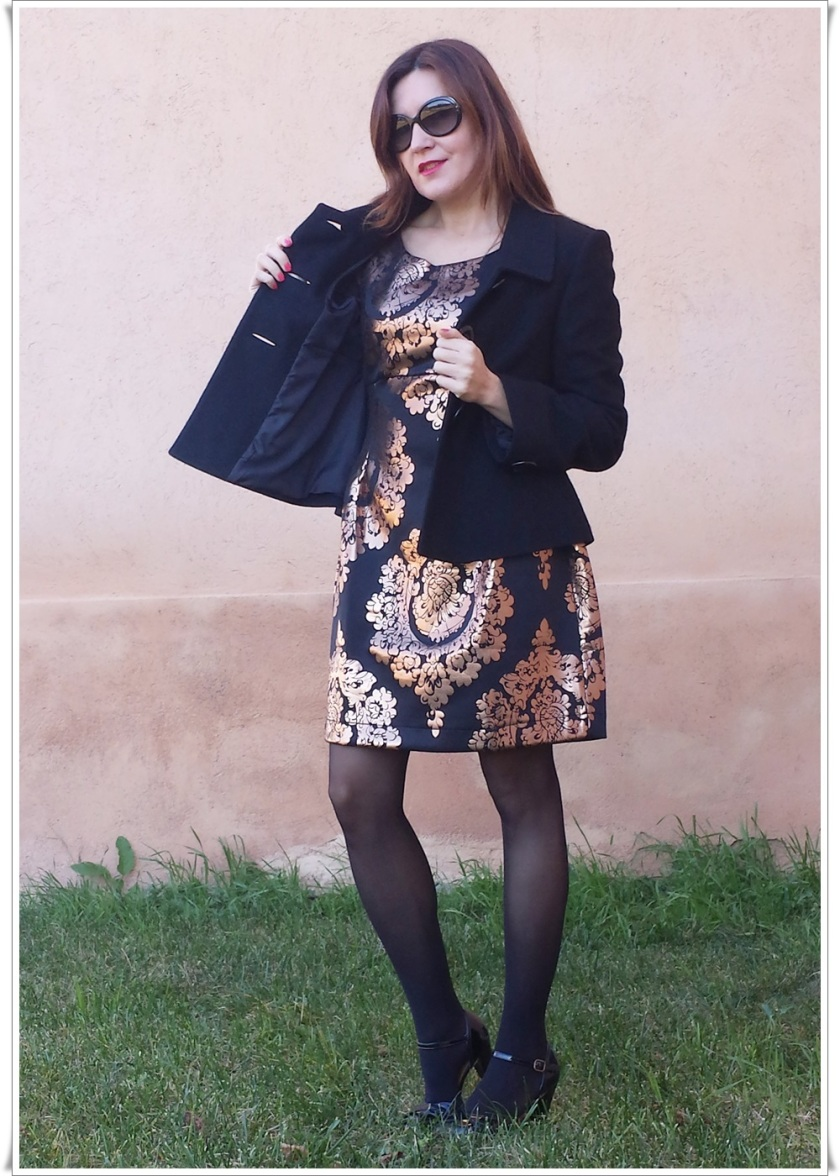 Cuidatuimagen, Look de fin de año; Venca, barroco, dress, end-of-year look, trendy looks 6