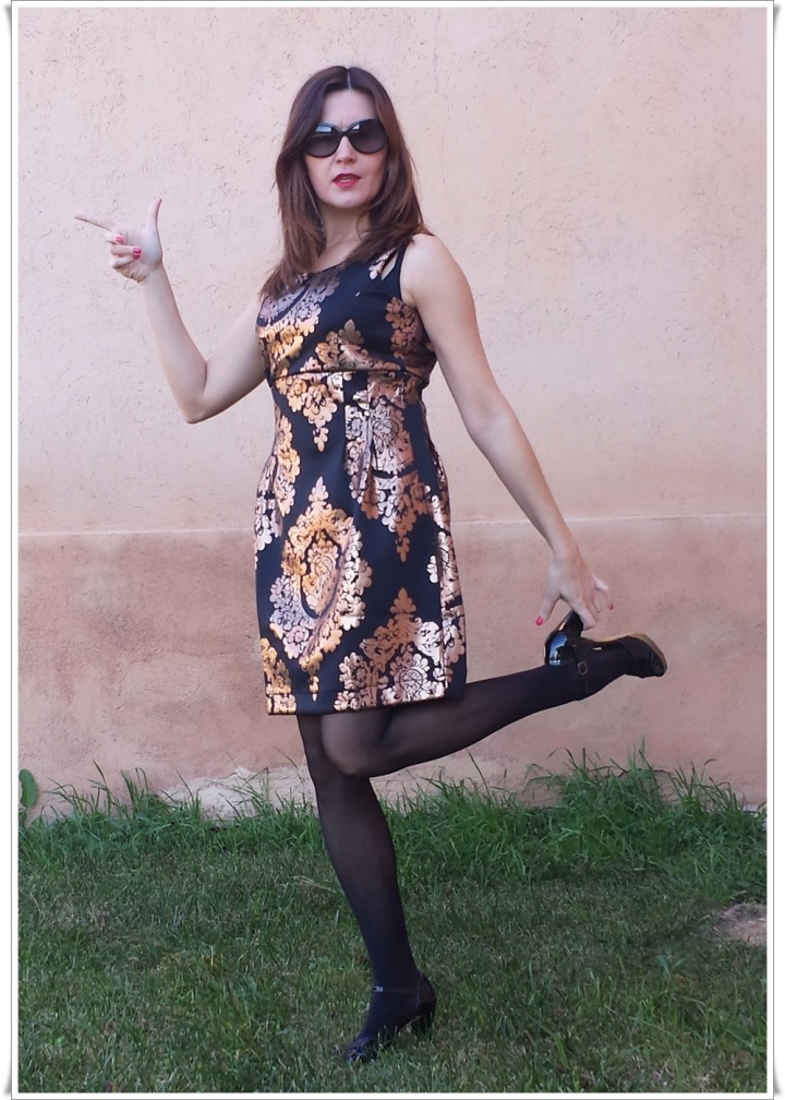 Cuidatuimagen, Look de fin de año; Venca, barroco, dress, end-of-year look, trendy looks 99