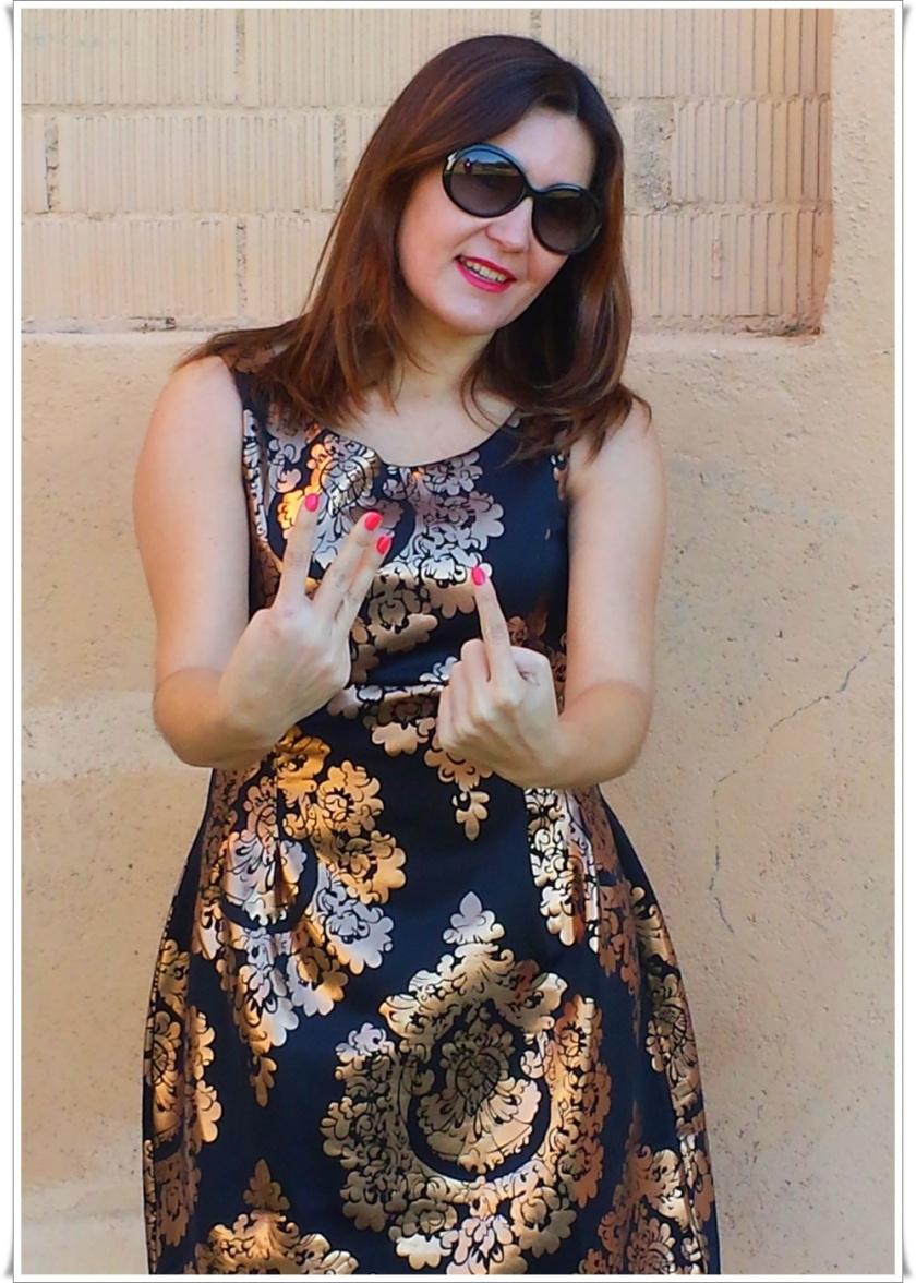 Cuidatuimagen, Look de fin de año; Venca, barroco, dress, end-of-year look, trendy looks