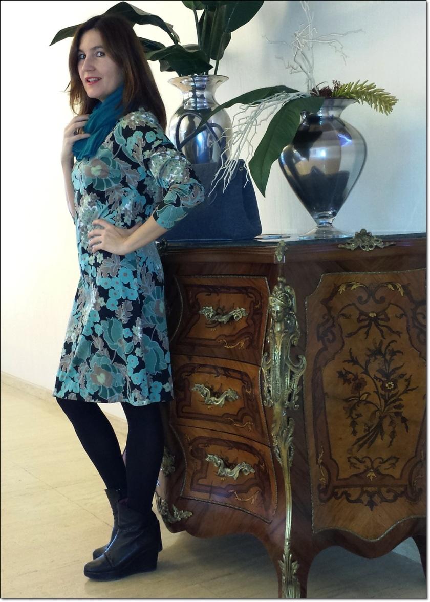 Cuidatuimagen, Navidad; Merry Christmas; retro; vintage, dress, birkin 8