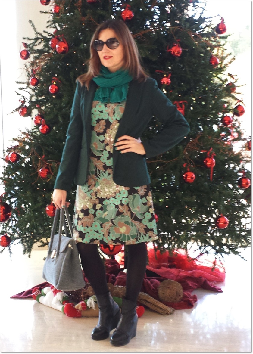 Cuidatuimagen, Navidad; Merry Christmas; retro; vintage, dress, birkin2