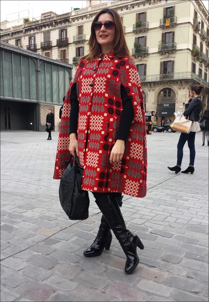 Cuidatuimagen; 080 Barcelona Fashion, Catwwalk, street style, frontwow, looks - 2
