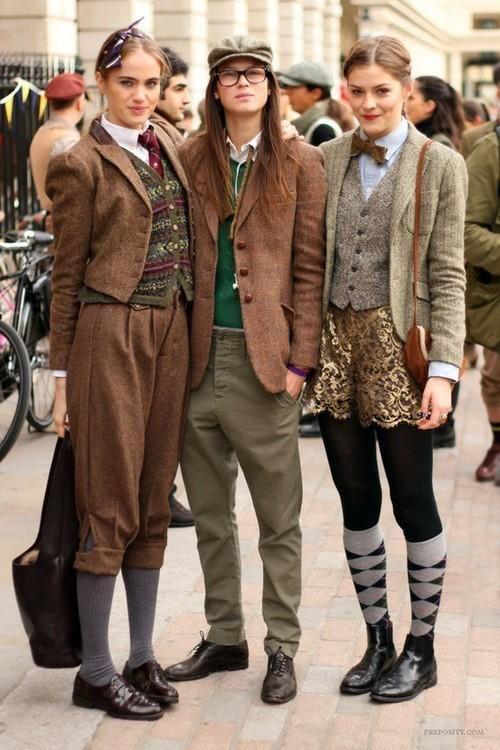 Cuidatuimagen, Dandy estila, woman-man style, femenino-masculino, trendy looks 7