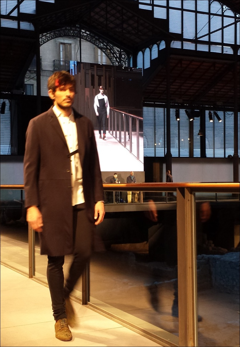 Cuidatuimagen, Josep Abril, 080 Barcelona fashion, catwalk, frontrow, borne, barcelona - 12