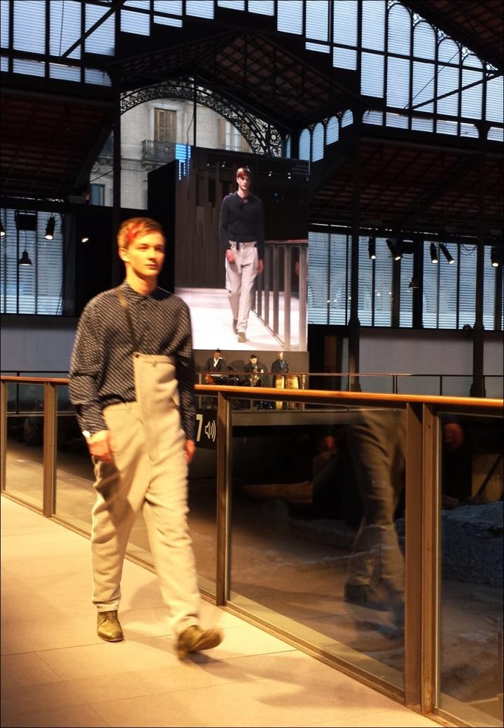 Cuidatuimagen, Josep Abril, 080 Barcelona fashion, catwalk, frontrow, borne, barcelona - 14